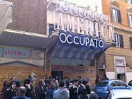 Roma, occupato il cinema America nel cuore di Trastevere