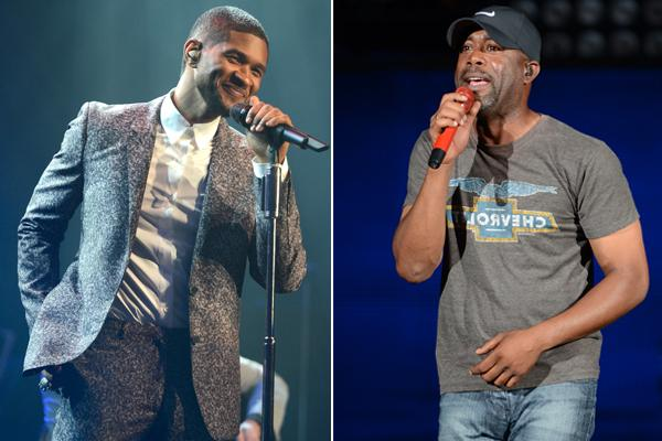 Usher and Darius Rucker Join Blake Shelton's Oklahoma Tornado Benefit