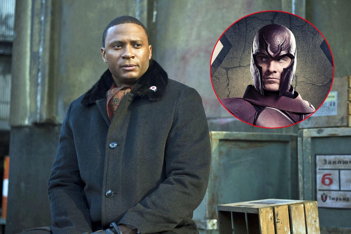 Diggle from 'Arrow' steals Magneto's hat, descends into the uncanny valley abyss