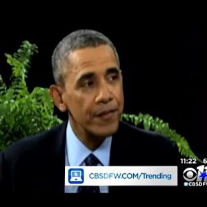 Trending: Pres. Obama Between Two Ferns, Toddler Debates For Cupcake