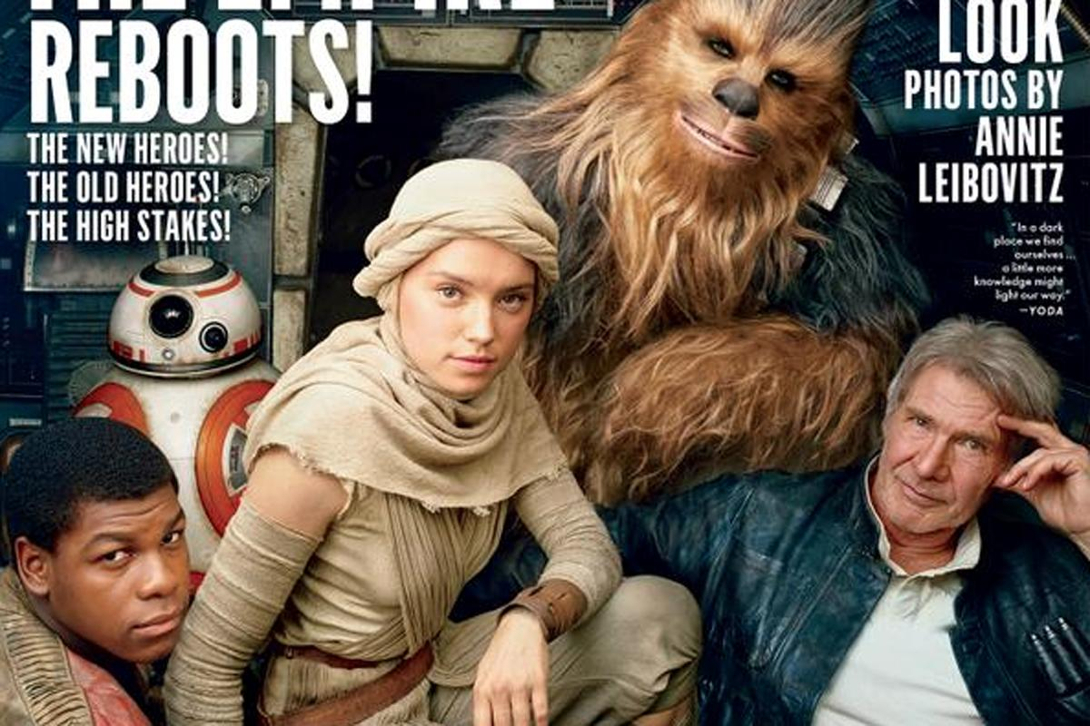 Adam Driver looks evil and Lupita Nyong'o is mysterious in new 'Star Wars' photos