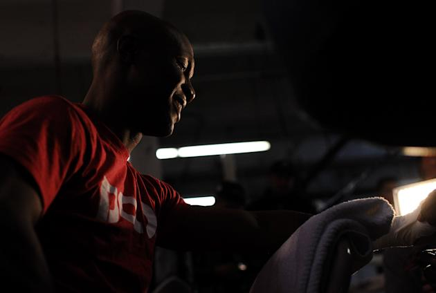 Zab Judah Open Workout
