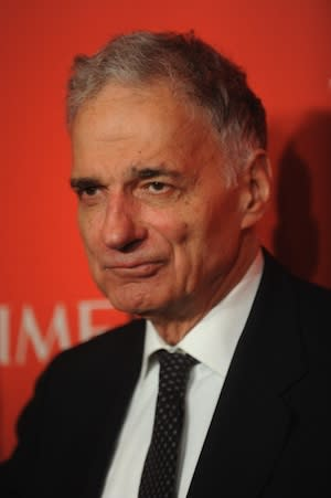 Ralph Nader to Stephen Colbert: Give Me Your Super PAC Cash! (Exclusive)