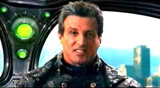 Sylvester Stallone in Spy Kids 3-D: Game Over