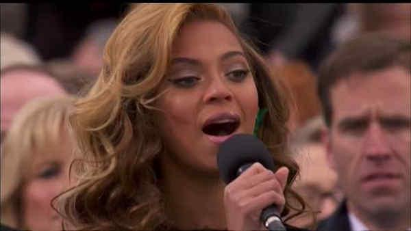 Band says Beyonce lip synched National Anthem