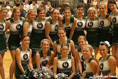 Olympus cheerleading team