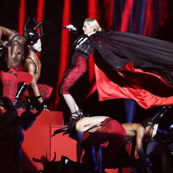 Proof That Madonna Always Gets What She Wants, Even If It Means Falling Down The Stairs