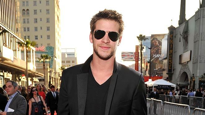 Liam Hemsworth Thor Loa Angeles Premiere