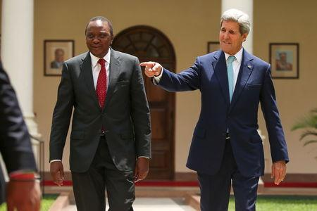 Kerry says Kenya has role in resolving Somalia, South Sudan conflicts