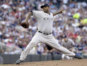 Sabathia, Cano push Yankees to 3-2 win over Twins