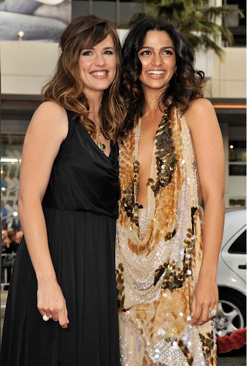 Ghosts of Girlfriends Past LA Premiere 2009 Jennifer Garner Camila Alves