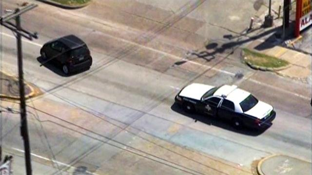 Watch: Smart Car driver leads police on high-speed chase