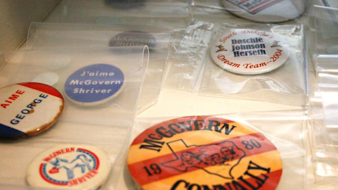 McGovern's personal items to be sold in S. Dakota