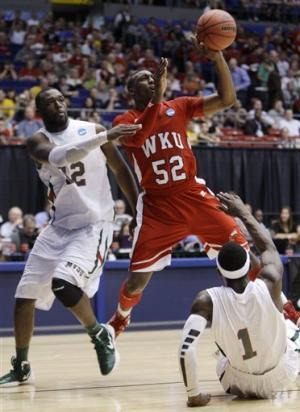 WKU sets NCAA record with 59-58 win over MVSU