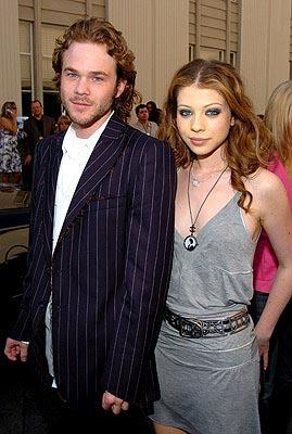 Shawn Ashmore and Michelle Trachtenberg MTV Movie Awards - 6/5/2004