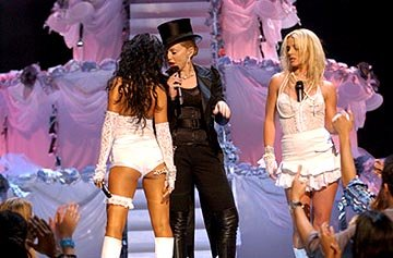 Christina Aguilera, Madonna, Britney Spears,  MTV Video Music Awards - 8/28/2003