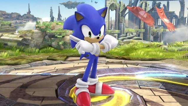 Super Smash Bros - Sonic Reveal Trailer