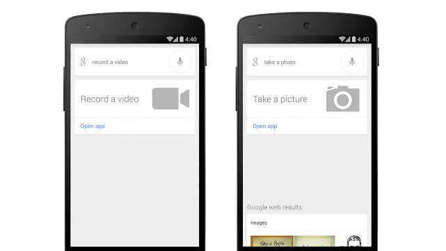 You can now tell Google to take pictures for you