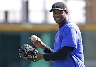 Tracy McGrady made a brief attempt at playing professional baseball. (AP)