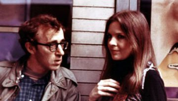 Woody Allen and Diane Keaton in United Artists' Annie Hall