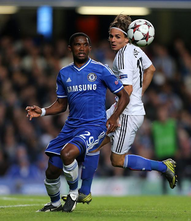 Soccer - UEFA Champions League - Group A - Chelsea v FC Basel - Stamford Bridge