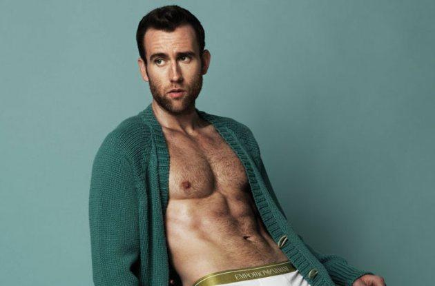 'Harry Potter' Star Matthew Lewis' Racy Spread Shocks J.K. Rowling