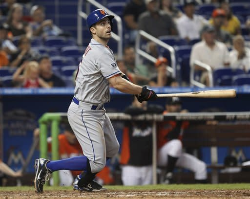 Wright's 4 hits lead Mets to 9-3 win over Marlins