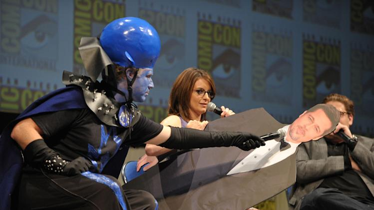 2010 Comic Con Panel Megamind Will Ferrell Tina Fey Jonah Hill