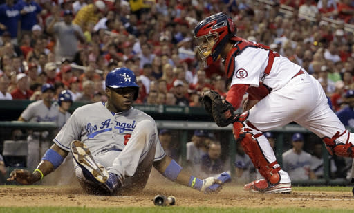 Dodgers knock out Miller, whip Cardinals 13-4