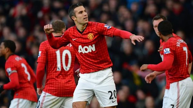 FOOTBALL - 2012/2013 - Manchester United-Sunderland - Van Persie