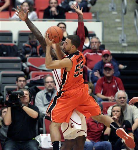 Oregon St Washington St Basketball
