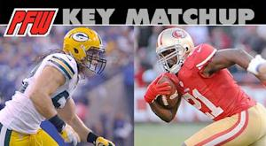 Key matchup: Niners RB Frank Gore vs. Packers run defense