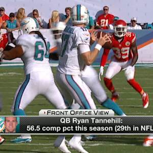Would the Miami Dolphins bench Ryan Tannehill?