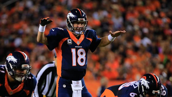 Denver quarterback Peyton Manning broke Brett Favre's iconic NFL record for career touchdown passes with his 509th scoring pass in the Bronco's game against San Francisco