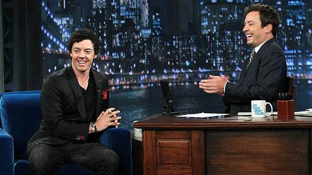 Rory McIlroy and Jimmy Fallon