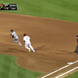 Howard's unassisted double play