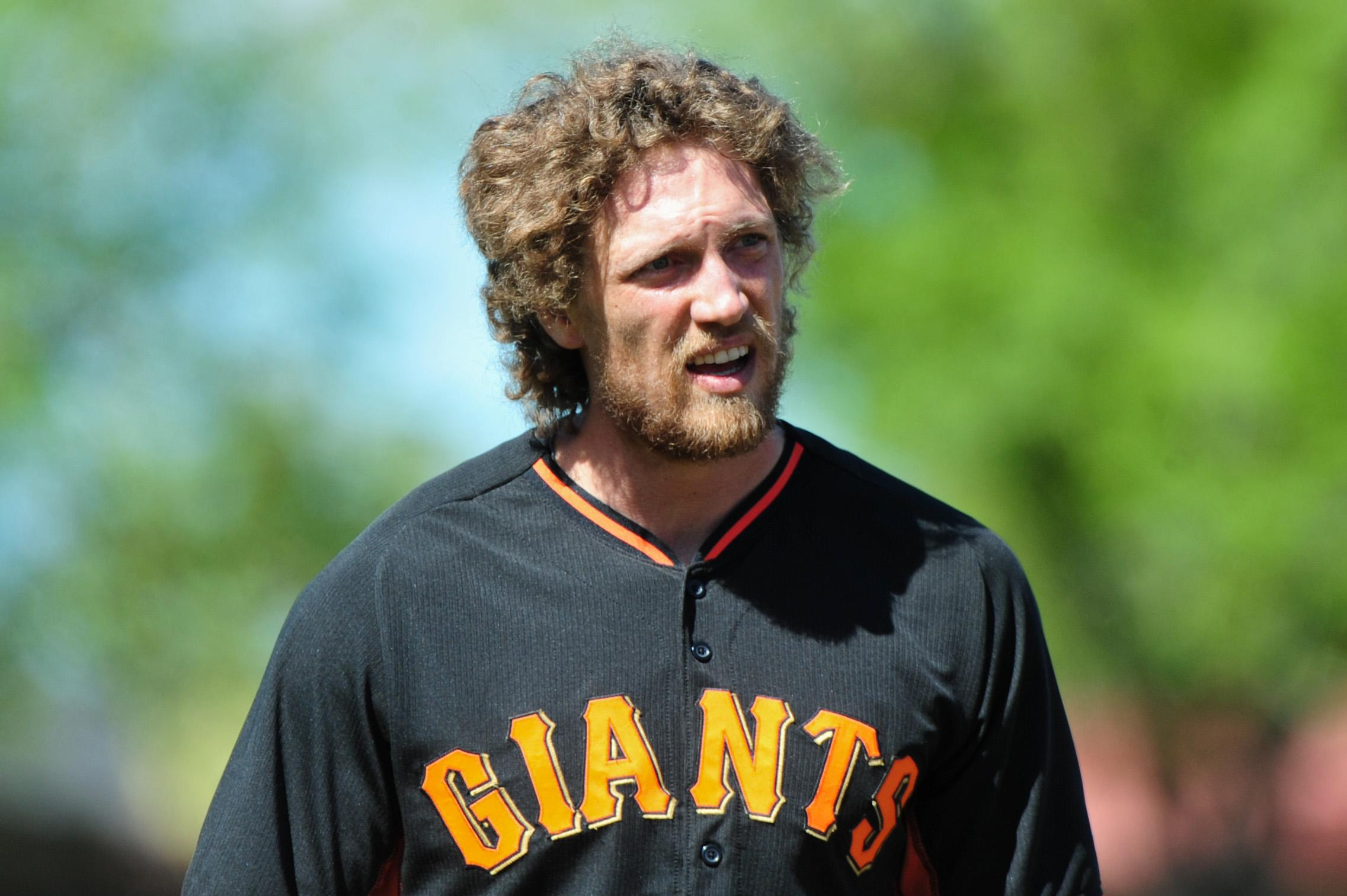 Hunter Pence has a broken forearm and the Giants are in trouble
