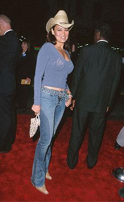 Tia Carrere at the Mann's Chinese Theater premiere of Warner Brothers' Battlefield Earth