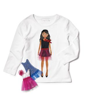 Lotty Dotty Shirt With Nikki Doll