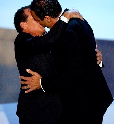 Garry Shandling and Brad Garrett 55th Annual Emmy Awards - 9/21/2003