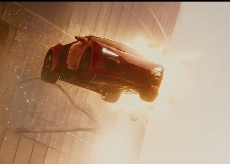 'Furious 7′ Extended Clip: Who's Up For A Little Skydriving?