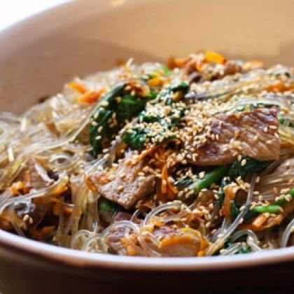 Korea! Korean Steak Noodles