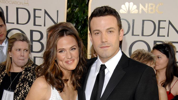 Jennifer Garner Ben Affleck 2007 Golden Globes
