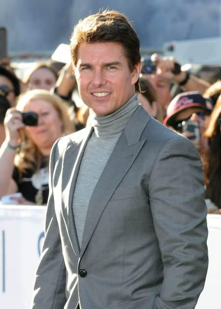 Tom Cruise attends the premiere of 'Oblivion' at the Dolby Theatre on April 10, 2013 in Hollywood, Calif. -- Getty Premium