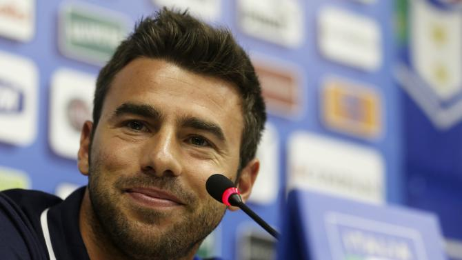 File photo of Italy's national soccer player Barzagli attending a news conference before a training session ahead of the Confederations Cup in Rio de Janeiro