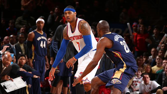 Knicks end 16-game skid, beat Pelicans 99-92