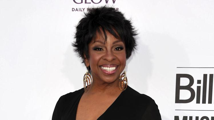 "FILE - This May 20, 2012 file photo, singer Gladys Knight arrives at the 2012 Billboard Awards at the MGM Grand in Las Vegas, Nev. Centric announced Wednesday, July 11, that Knight will work as the ""lead judge"" on ""Apollo Live."" The new series is a singing competition at New York's famed Apollo Theater and puts a new spin on the venue's popular ""Amateur Night"" showcase. It will debut in the fall. (Photo by John Shearer/Invision/AP)"
