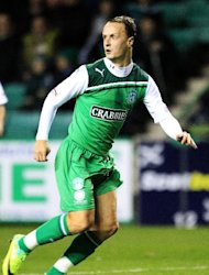 Leigh Griffiths is part of Hibernian&#39;s pre-season training camp