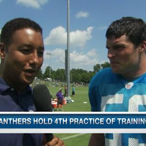 Carolina Panthers linebacker Luke Kuechly: The offense is meshing well