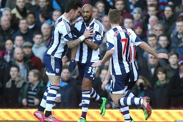 Nicolas Anelka accused of celebrating goal against West Ham with 'anti-Semitic' gesture